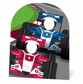 Racing Cars Stand-in Cutout