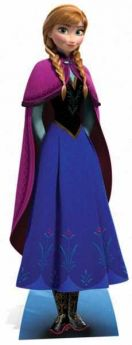 Disney Frozen Anna Cardboard Mini Cutout 96cm