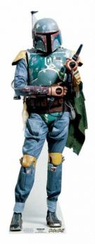 Star Wars Boba Fett Mini Cutout
