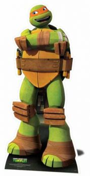 Michelangelo Mini Cutout (Teenage Mutant Ninja Turtles)