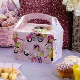 Scooter Girls Party Lunch Boxes pk8