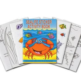 Sea Life Activity Book