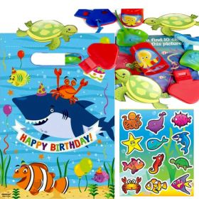 Sea Life Unisex Pre Filled Party Bags No.1, One supplied