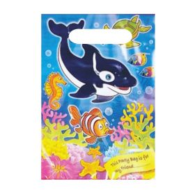 6 Sealife Party Bags