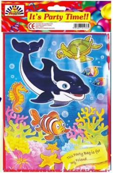 Sealife Party Bags 6pk