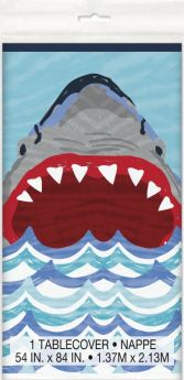 Shark Party Plastic Tablecover