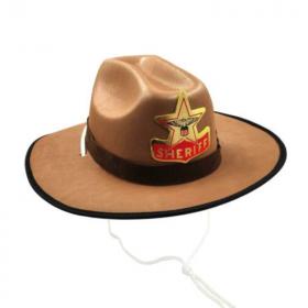 Children's Sheriff Hat Brown