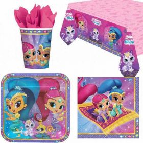 Shimmer & Shine Party Tableware Pack for 8