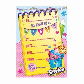 Shopkins Party Invitations, pk20