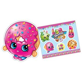 Shopkins 6 Masks and 6 Sticker Sheets