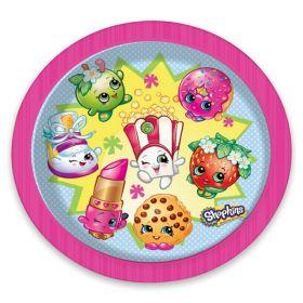 Shopkins Paper Party Plates, pk8