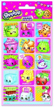 Shopkins Reward Sticker Sheet