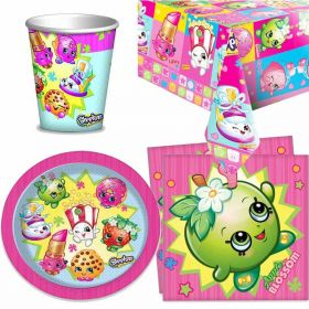 Shopkins Party Tableware Pack for 8