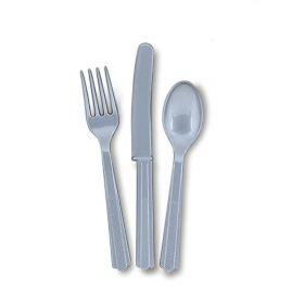 Silver Cutlery, pk18
