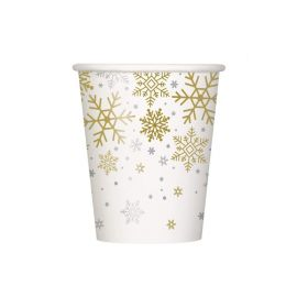 Snowflake Designed Cups