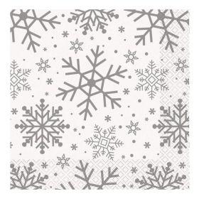 Snowflake Designed Napkins