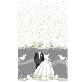 Silver Wedding Tablecover