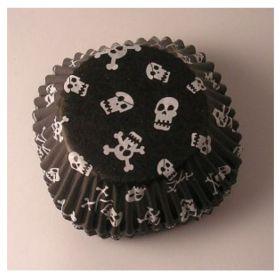 Skull Cupcake Cases, pk72