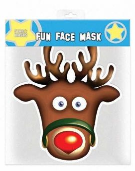 Rudolph Face Mask