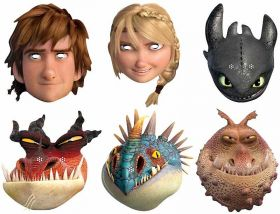 How To Train Your Dragon Masks pk6