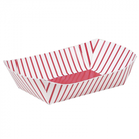 4 Paper Snack Trays