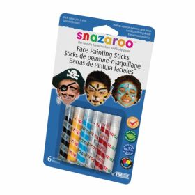 Snazaroo Boys Face Painting Sticks