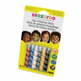 Snazaroo Unisex Face Painting Sticks