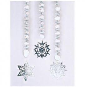 Snowflakes Dangling Cutouts