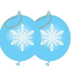Snowflake Punch Balloons