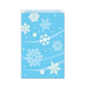 Snowflake Paper Treat Bags