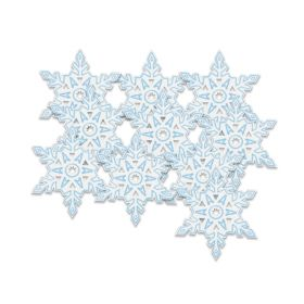 Snowflake Christmas Decorations 5""