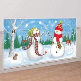 Snowman Scene Setter