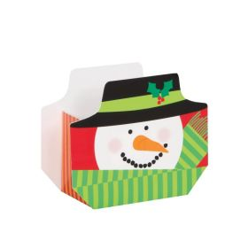 Snowman Christmas Treat Boxes, pk8