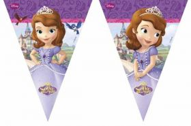 Sofia the First Plastic Flag Banner
