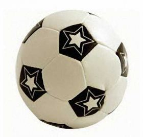 Soft Mini Football with stars 9cm