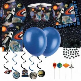 Space Blast Ultimate Party Kit for 8