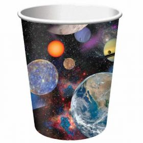 Space Blast Party Paper Cups, 8pk
