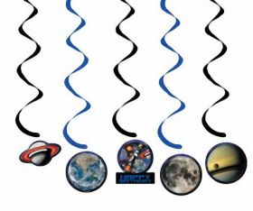 Space Blast Dizzy Danglers Hanging Decoration