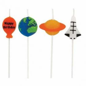 Space Pick Candles pk4