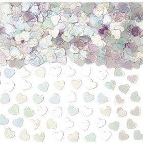 Sparkle Hearts Iridescent Confetti