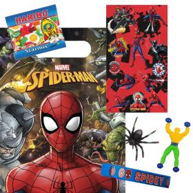 Filled Spiderman Party Bags