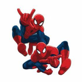 Spiderman 30cm Cutouts pk2