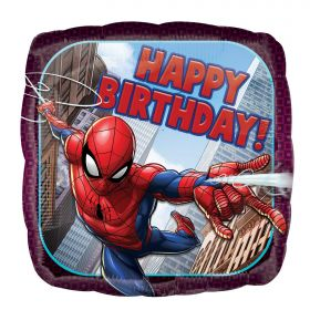 Spiderman Happy Birthday Foil Balloon