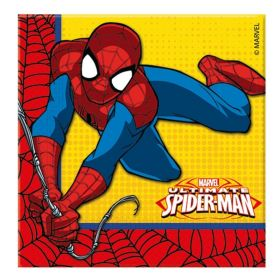 New Ultimate Spiderman Party Napkins, pk20
