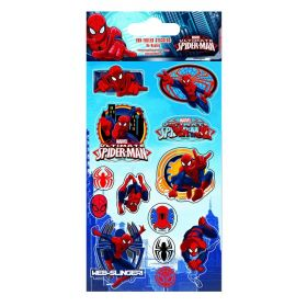 Spiderman Fun Foil Re-usable Sticker Sheet
