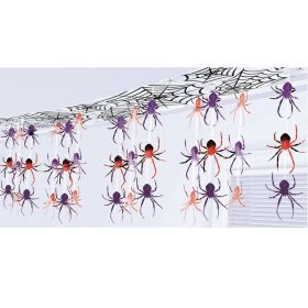 Halloween Spider Ceiling Decorations