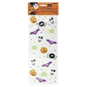 Spooky Smiles Cello Bags, pk20