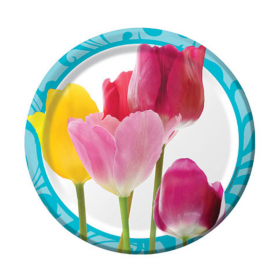 Springtime Dessert Plates