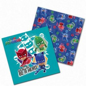 PJ Masks Party Paper Napkins pk16