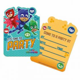PJ Masks Invitations pk6